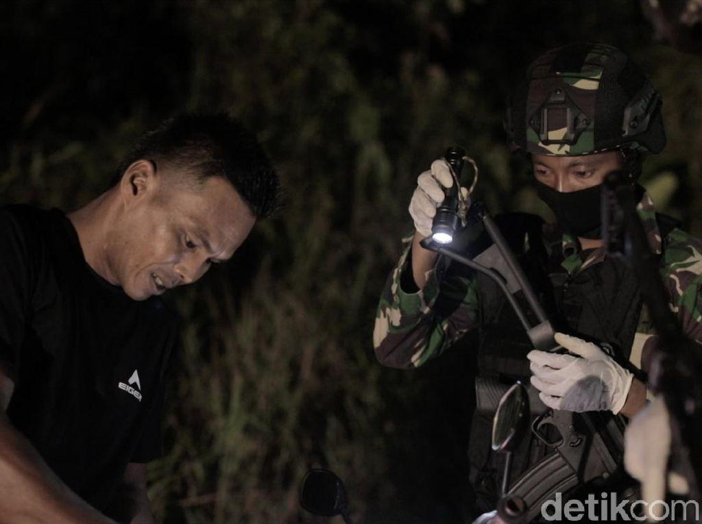 Aksi Sweeping TNI Jaga Kedaulatan NKRI