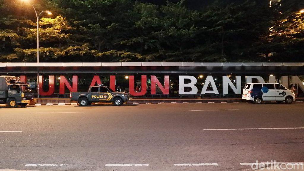 Alun-alun Bandung Bak Kota Mati