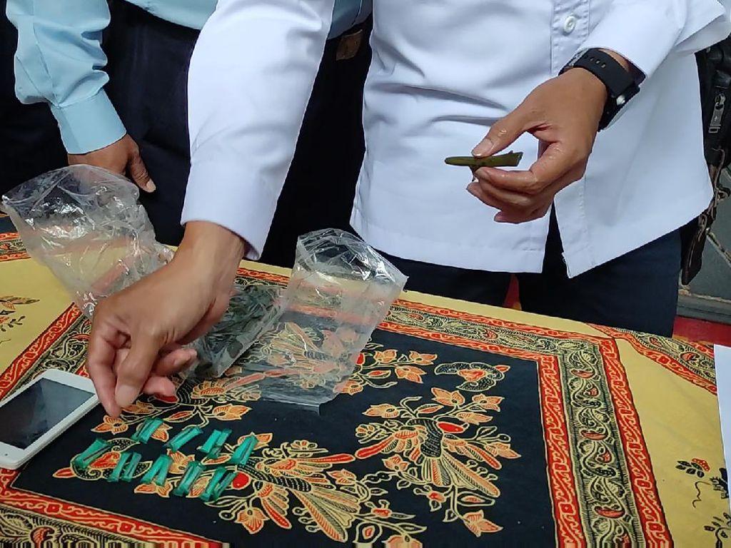 Sayur Kangkung Isi Sabu Diselundupkan ke Lapas Cianjur