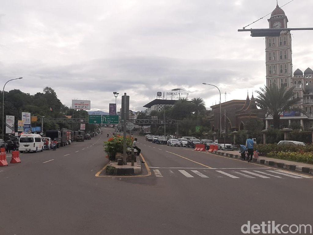Libur Tahun Baru Usai, Begini Kondisi Lalin di Puncak Bogor