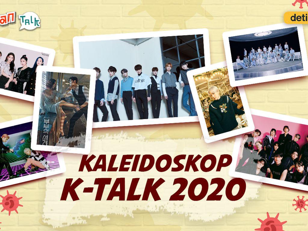 K-Talk Kaleidoskop: Wawancara Idol K-Pop hingga Hiburan di Tengah Pandemi