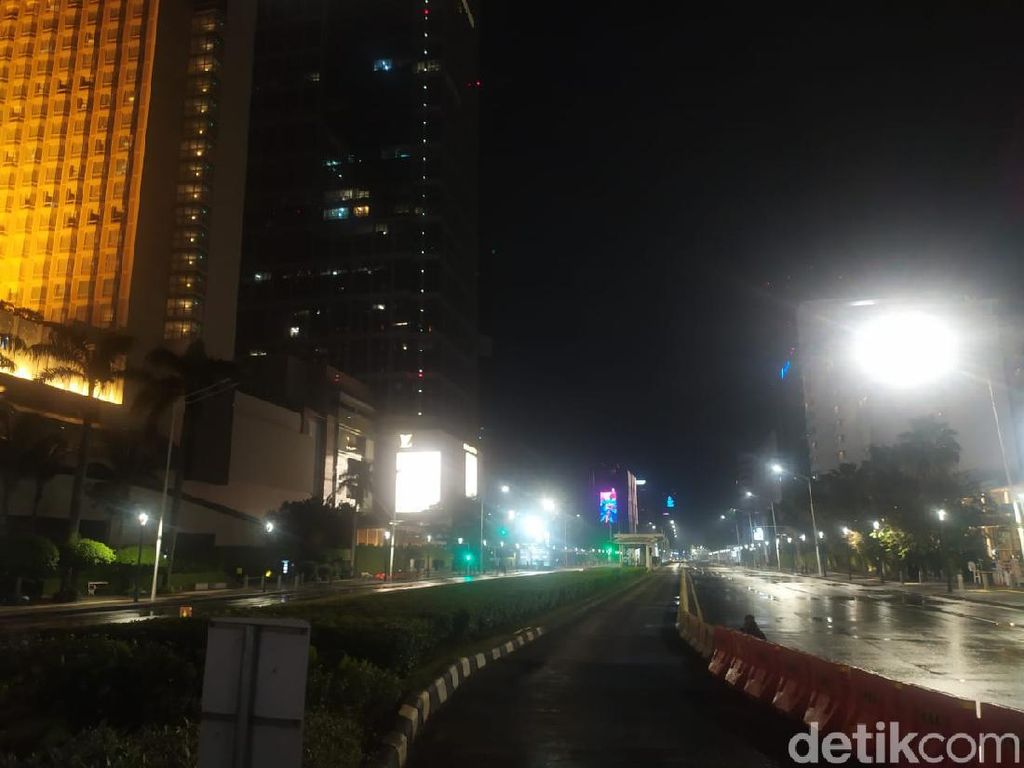 Ibu Kota Tanpa Gegap Gempita di Malam Tahun Baru 2021