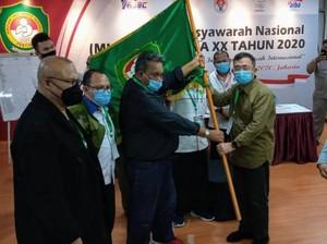 Komarudin Simanjuntak Terpilih Jadi Ketua Umum PP Pertina