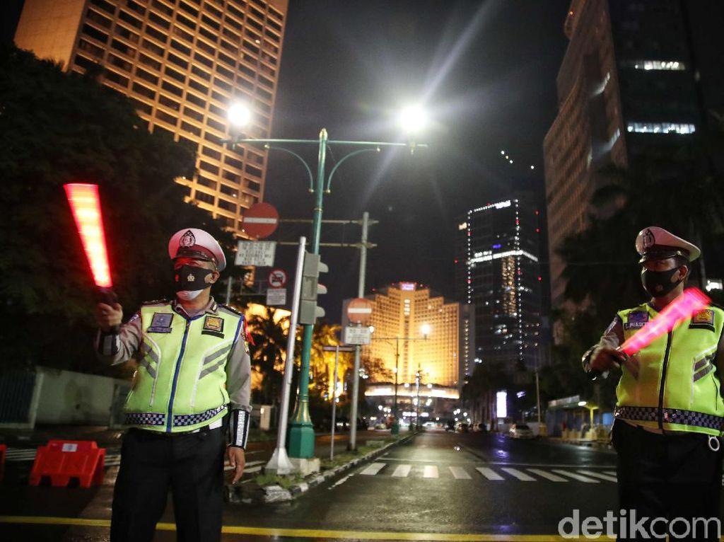 Malam Ini, Polisi Razia Knalpot Bising di Sekitar Monas-Sudirman-Thamrin