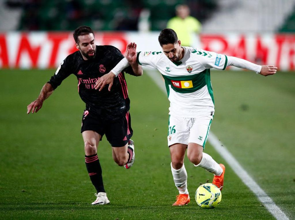 Liga Spanyol: Real Madrid Ditahan Imbang Elche 1-1