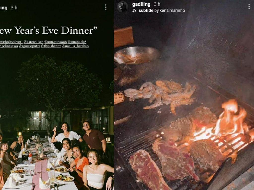 Momen Seru Gading Marten hingga Prilly Saat Pesta BBQ