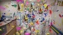 Kala Nakes di Italia Rayakan Tahun Baru Bersama Pasien Corona