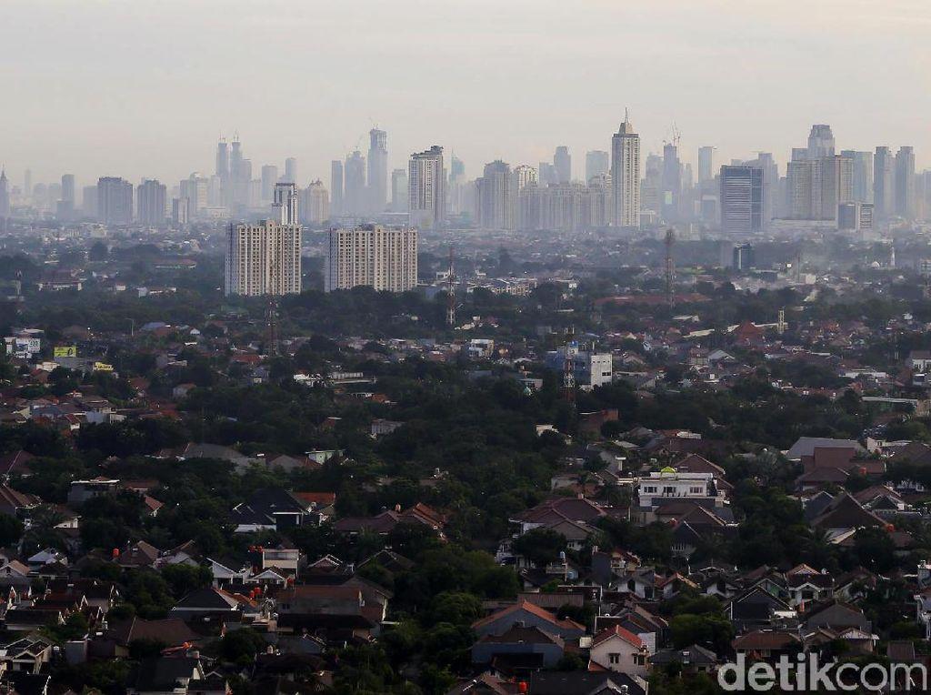 Pagi Pertama Tahun 2021 di Jakarta