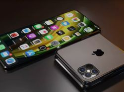 Inikah Wujud iPhone Flip, Ponsel Layar Lipat Apple?