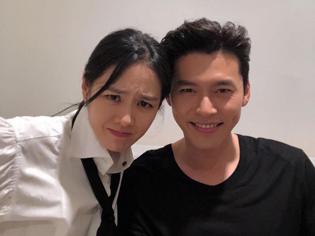 So Sweet! Kemesraan Hyun Bin dan Son Ye Jin Bintangi Iklan Bareng