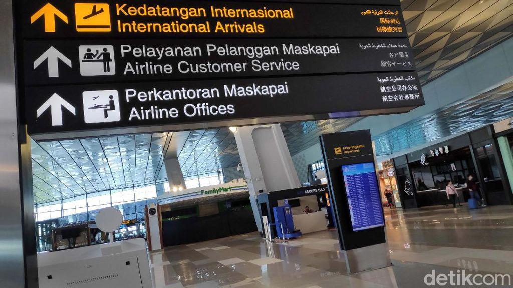 WNA Dilarang Masuk RI, Begini Kondisi di Bandara Soetta