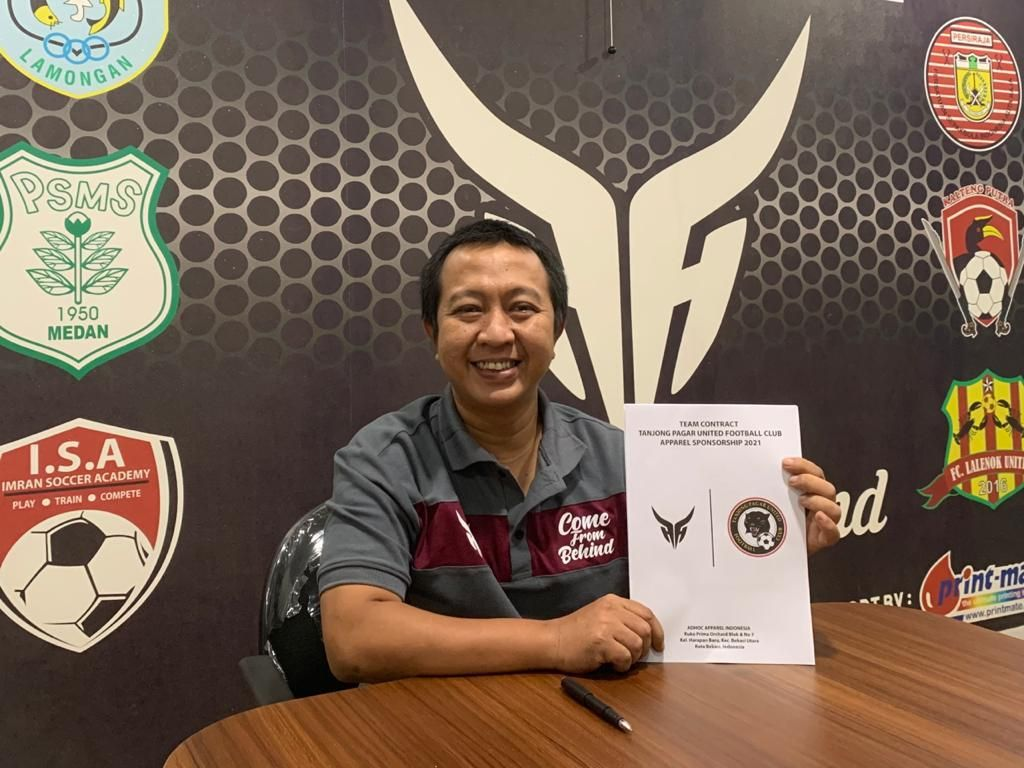 Apparel Indonesia Jalin Kerja Sama dengan Klub Singapura