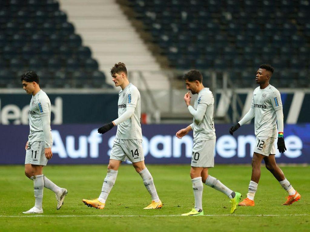 Hasil Liga Jerman: Bayer Leverkusen Ditekuk Eintracht Frankfurt 1-2