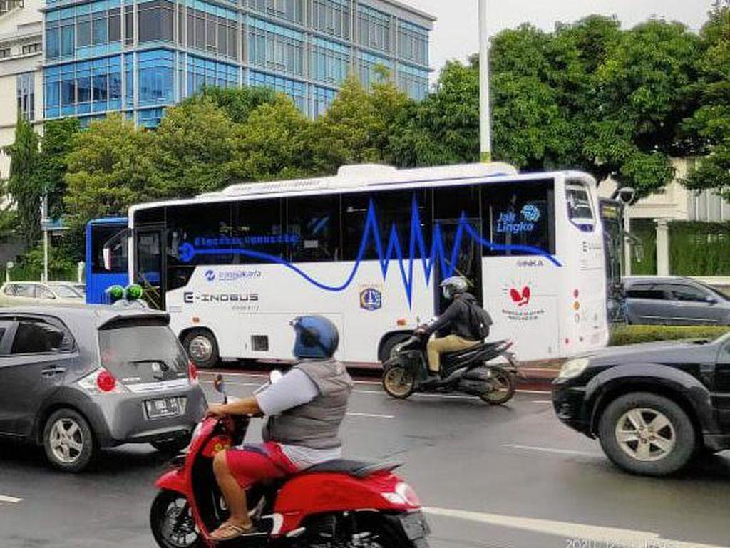 Wusss! Bus Listrik INKA Diuji Coba 3 Bulan di Jakarta