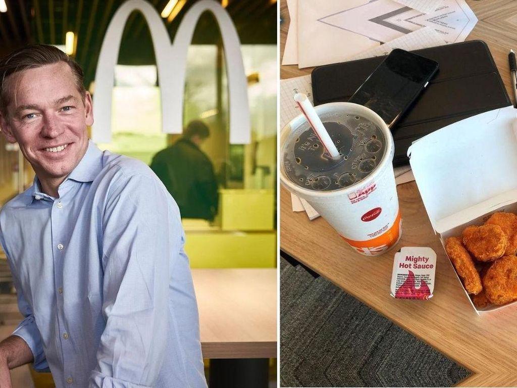 CEO McDonalds Makan Menu McD Tiap Hari Tapi Tetap Langsing