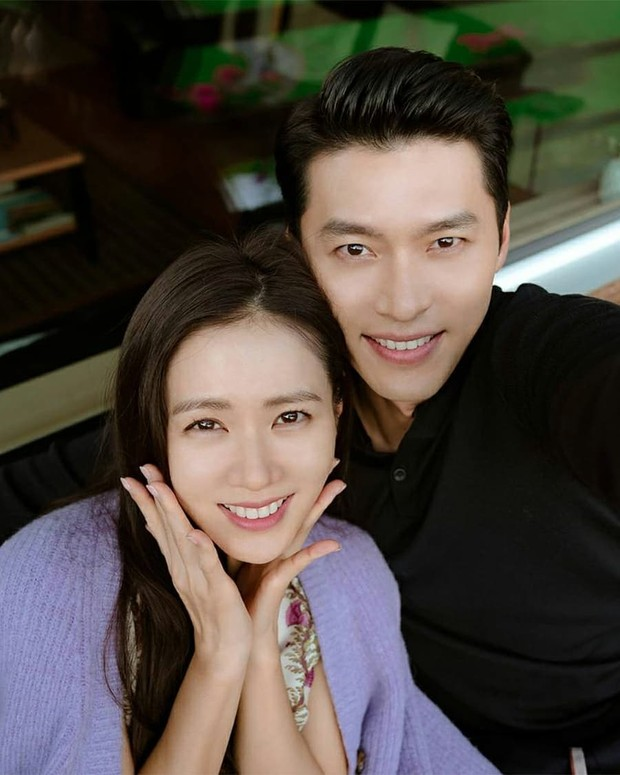 Hyun Bin dan Son Ye Jin/Foto: instagram.com/dispatch_style