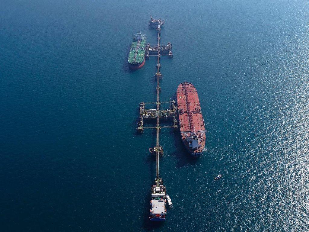 Kapal Tanker Irak Dievakuasi Usai Ada Temuan Ranjau