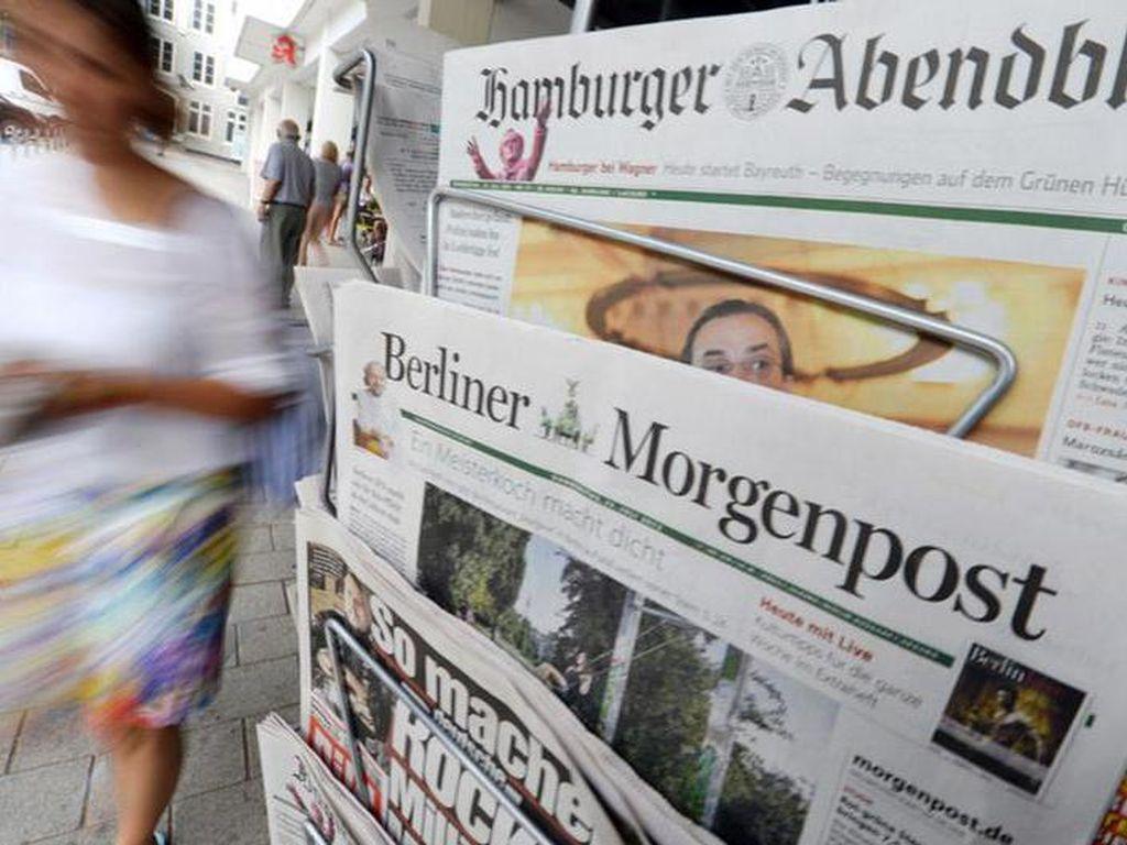Organisasi Media Terbesar Jerman Lumpuh Diserang Hacker Misterius