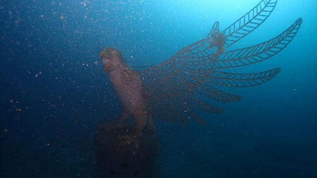 Patung Garuda Ditenggelamkan di Laut Bali, Restorasi Terumbu Karang