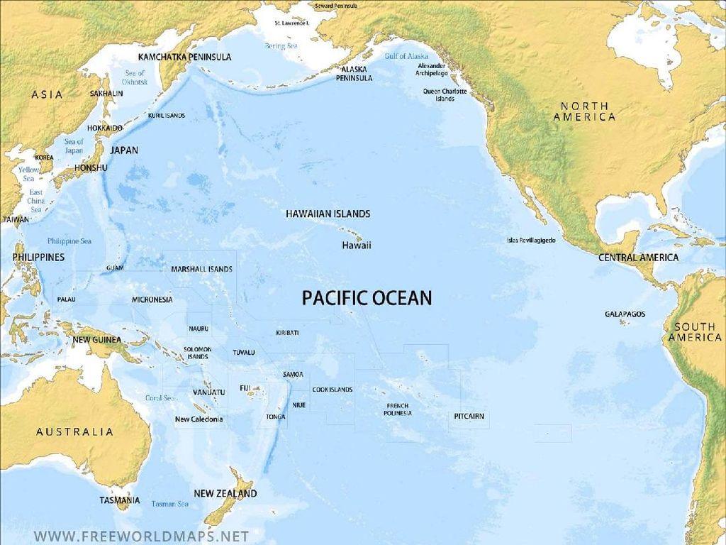 7 Fakta Menarik Samudra Pasifik yang Patut Diketahui