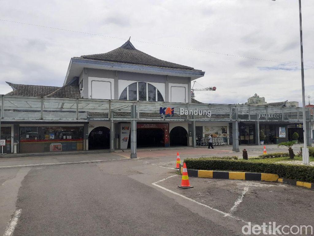 Puncak Arus Balik, 2.948 Penumpang KAI Tiba di Bandung