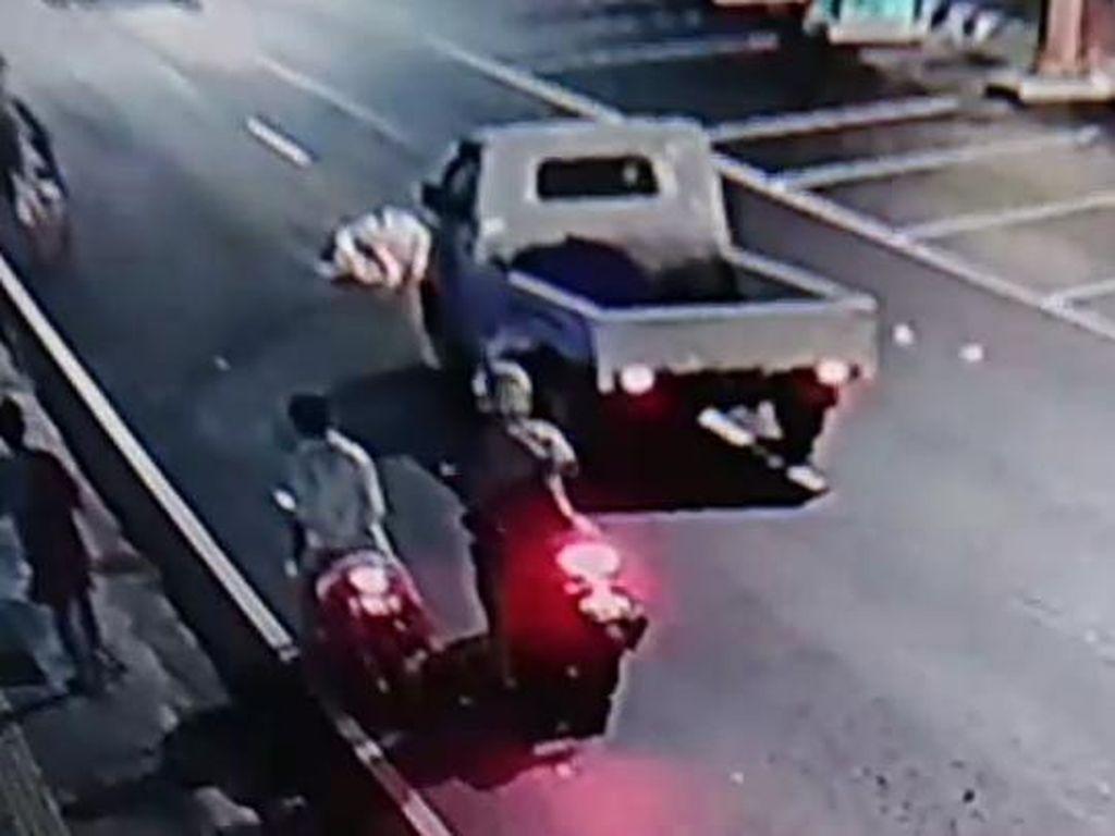Tabrak Lari Tewaskan 1 ABG di Kudus City Walk, Polisi Buru Sopir Pikap