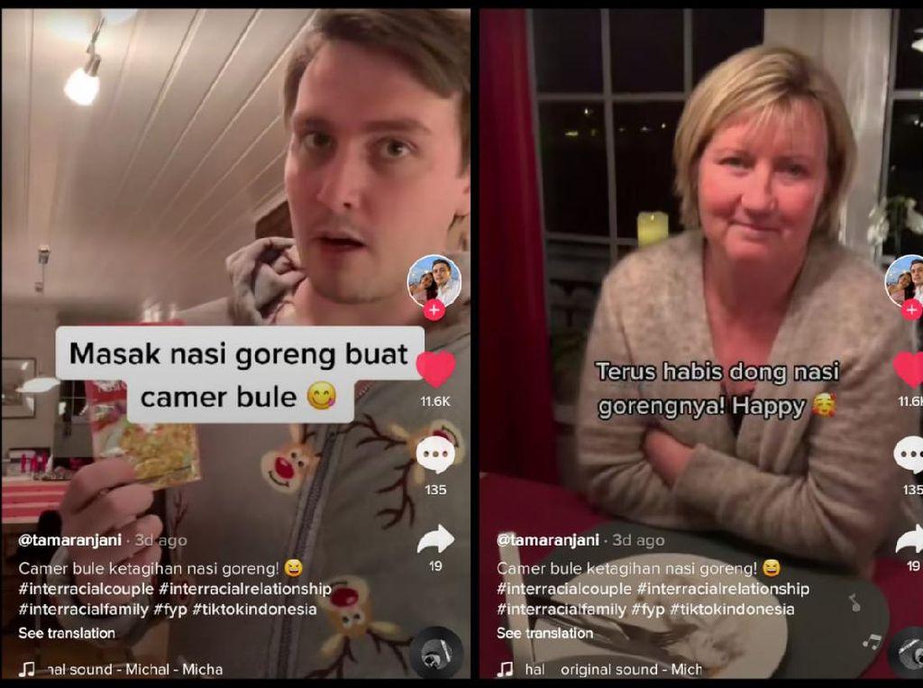 Wanita Ini Bikin Keluarga Pacar dari Norwegia Doyan Makanan Indonesia
