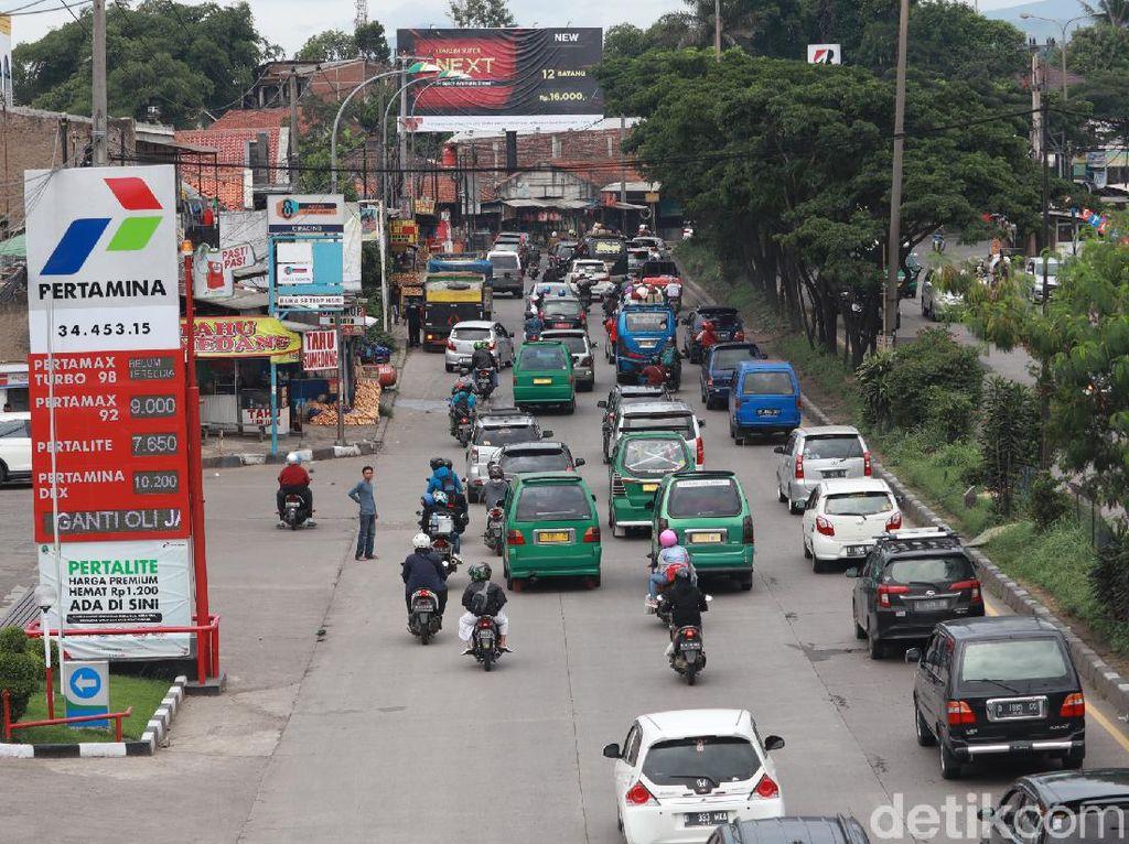 Puncak Arus Balik Libur Nataru di Cileunyi Bandung Diprediksi Hari Ini