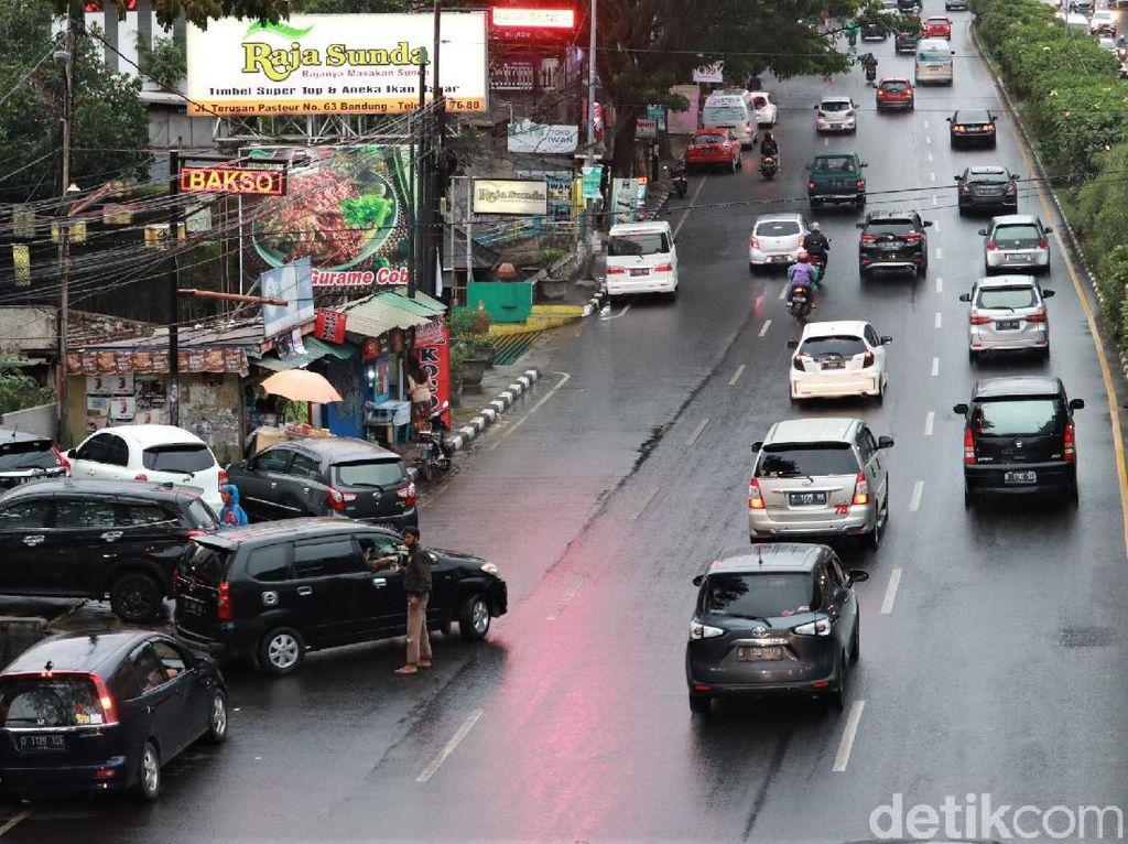 Minggu Malam, Arus Lalin Puncak Menuju Jakarta Ramai Lancar