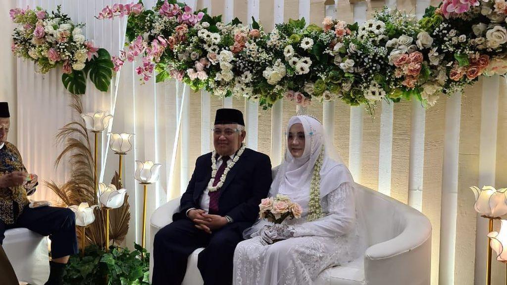 Sah! Ini Foto Pernikahan Din Syamsuddin-Rashda Diana