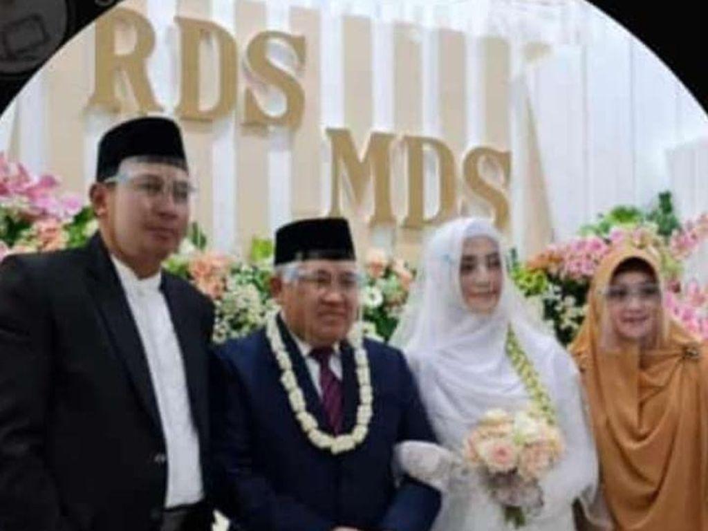 Pernikahan Din Syamsuddin Dihadiri Ketiga Putranya