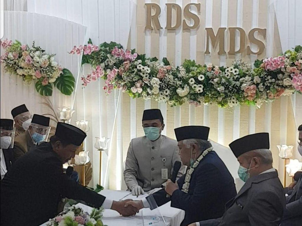 Cerita Penghulu Saat Nikahkan Din Syamsuddin dengan Cucu Pendiri Ponpes Gontor