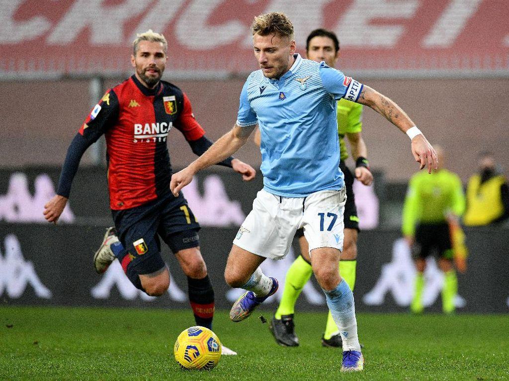 Genoa Vs Lazio Berakhir Imbang 1-1