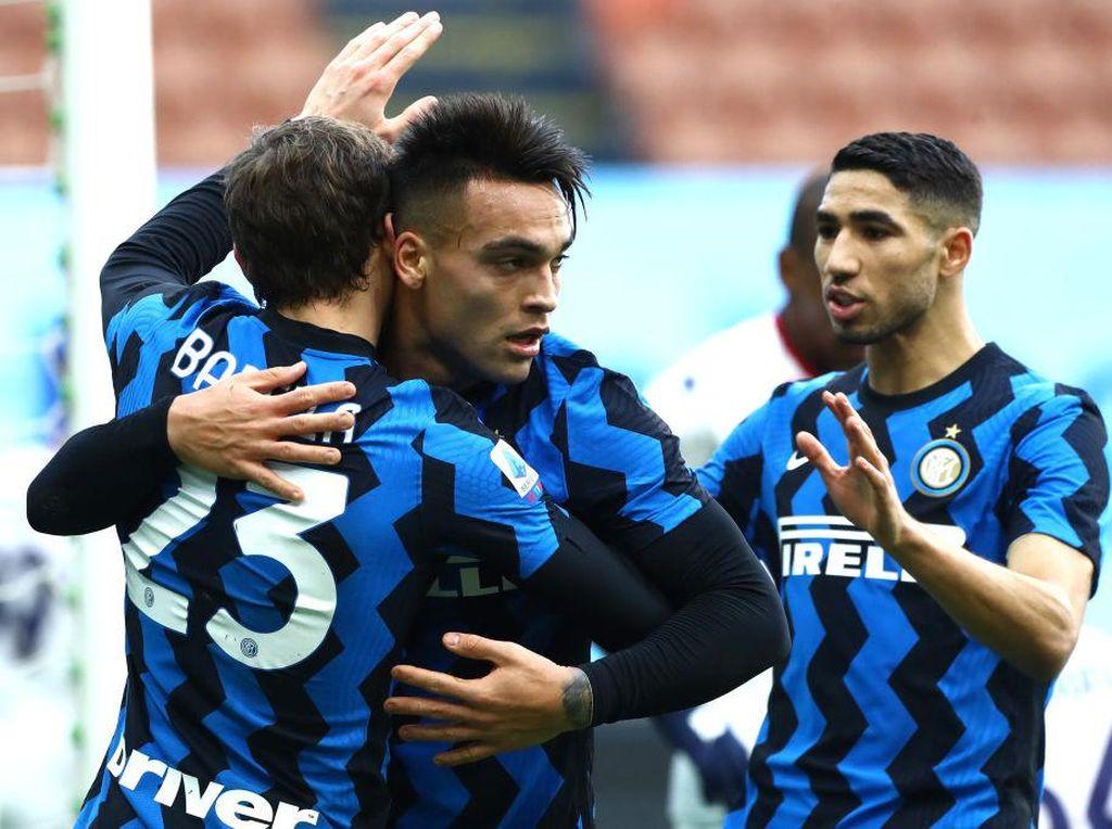 Inter Vs Crotone: Martinez Hat-trick, Nerazzurri Pesta Gol