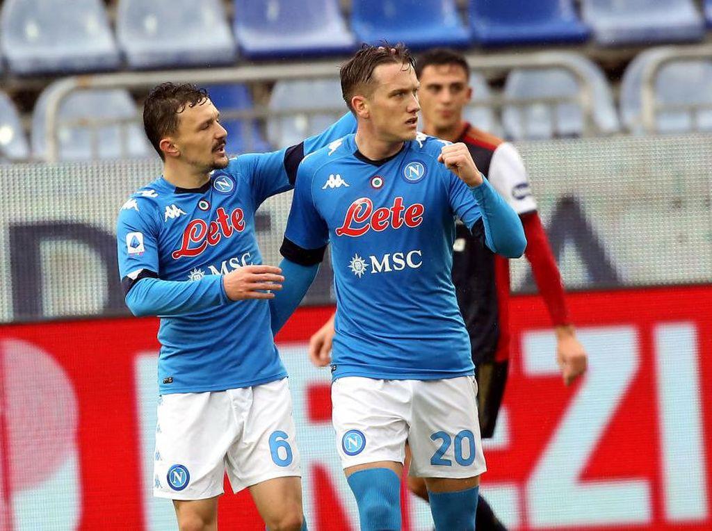 Cagliari Vs Napoli: Partenopei Menang 4-1
