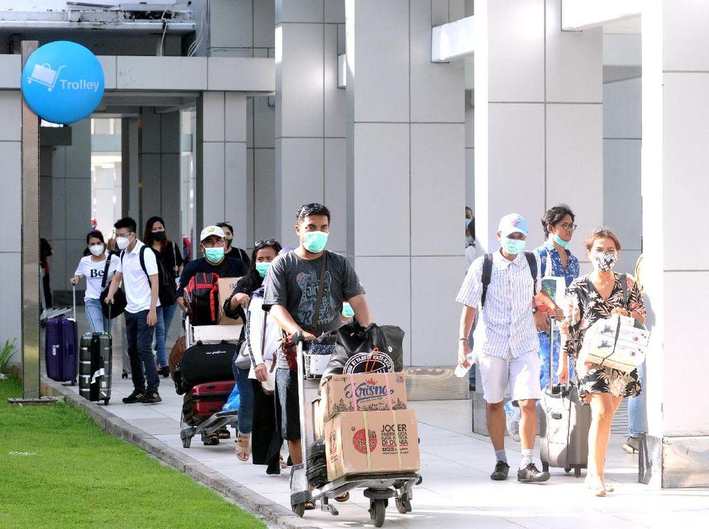 Penampakan Arus Balik Libur Tahun Baru di Bandara-Terminal Indonesia