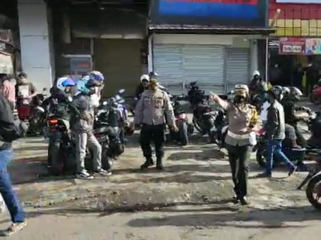 Langgar Prokes Corona, Polisi Bubarkan Kopdar Komunitas Motor di Lembang