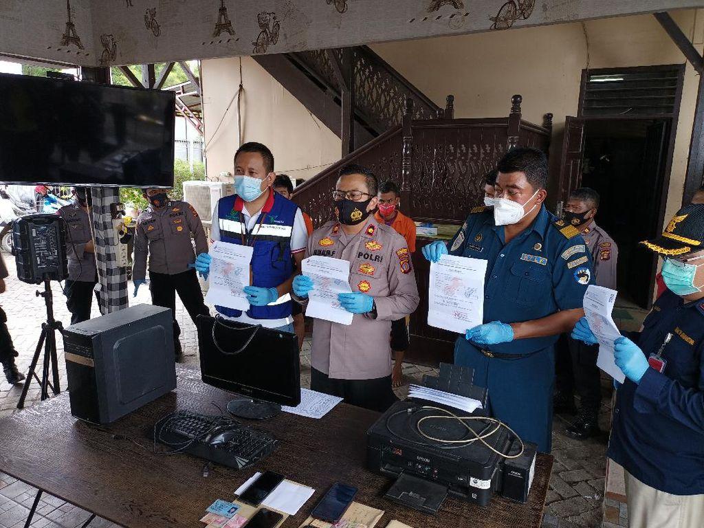 Palsukan Surat Rapid Test, 3 Pria di Samarinda Ditangkap Polisi