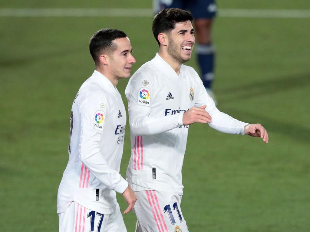 Madrid Gusur Atletico dari Puncak Klasemen LaLiga