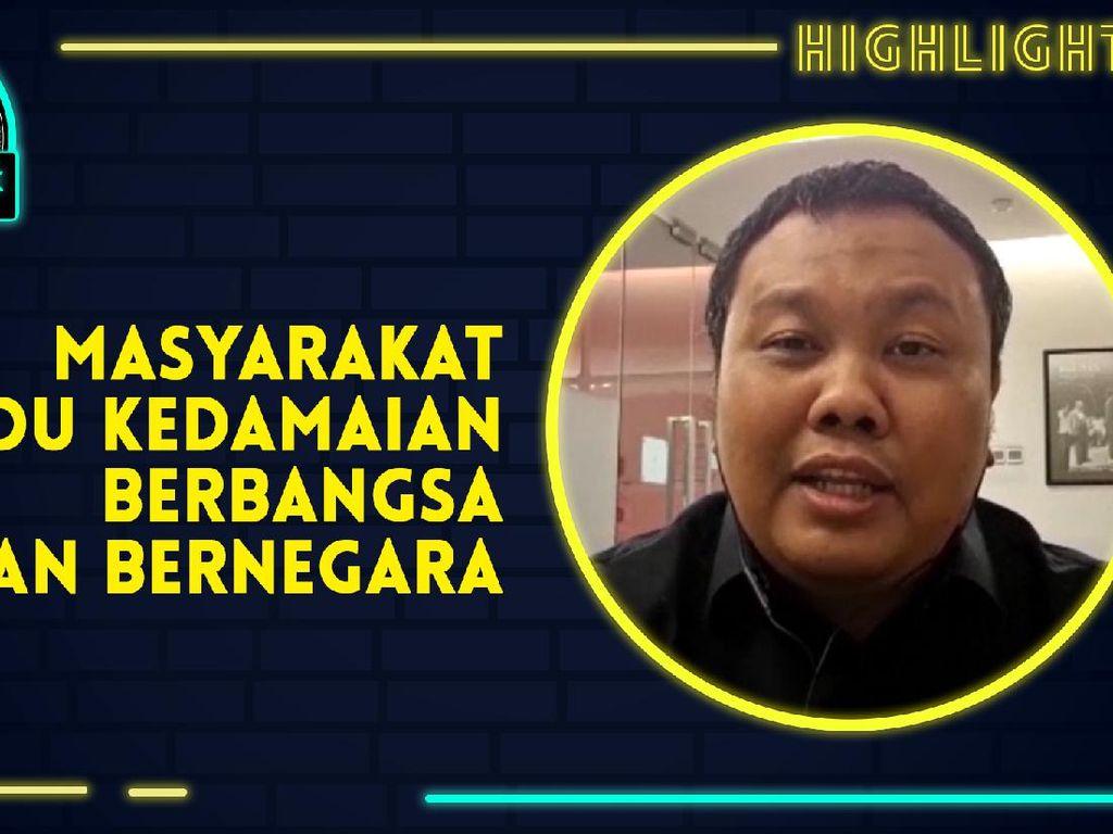 Pengamat Politik Hendri Satrio Nilai Tahun 2020 Ujian Untuk Toleransi
