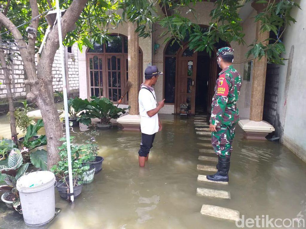 Banjir Anak Sungai Bengawan Solo di Lamongan Meluas, 12 Desa Terendam