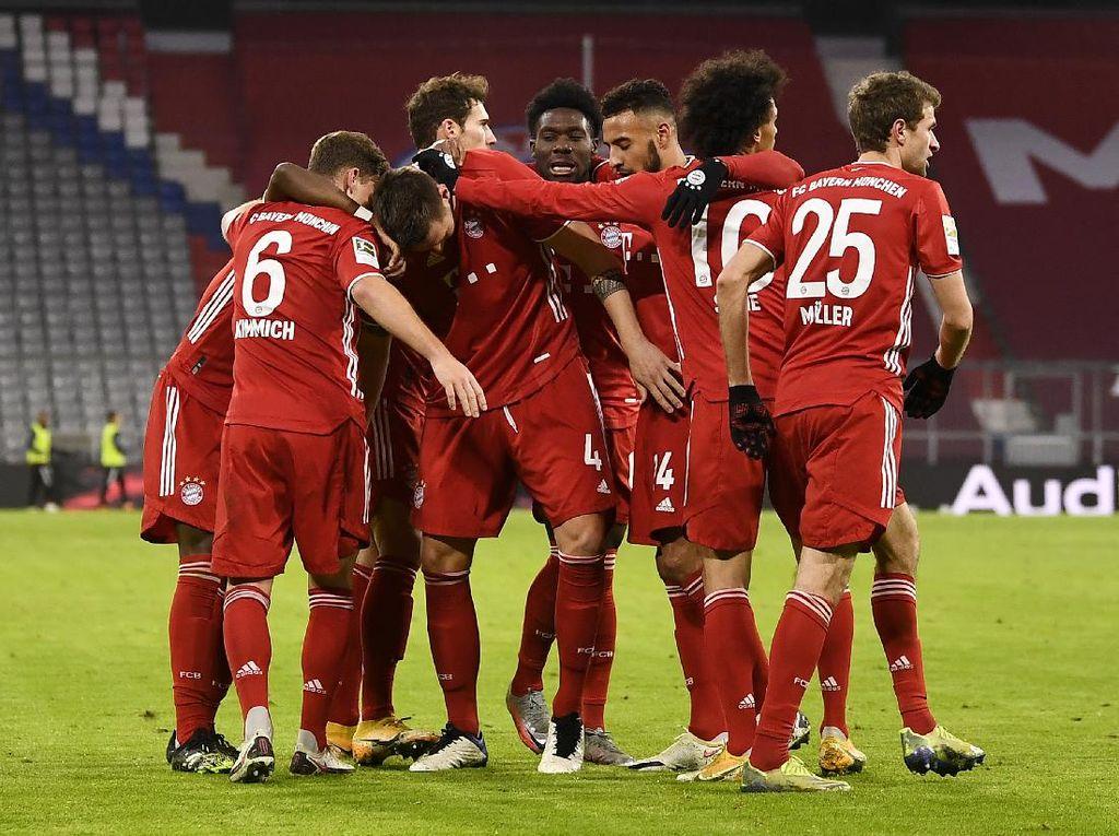 Klasemen Liga Jerman: Bayern Munich Masih Nyaman di Puncak