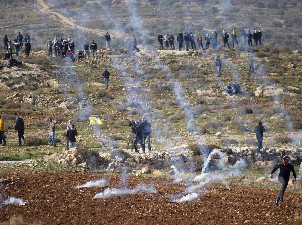 Demo Ricuh, Tentara Israel Tembak Mati Pria Palestina di Tepi Barat