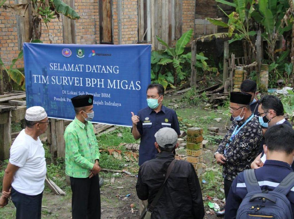 BPH Migas Setujui Ponpes di Sumsel Miliki 6 SPBU Mini
