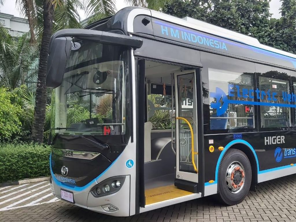 Bukan Kaleng-kaleng, Ini Spesifikasi Bus Listrik China yang Diuji Coba Transjakarta