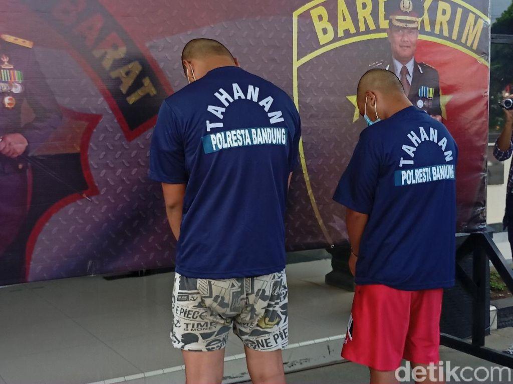 Dua Perampok Minimarket Rancaekek Bandung Ditangkap