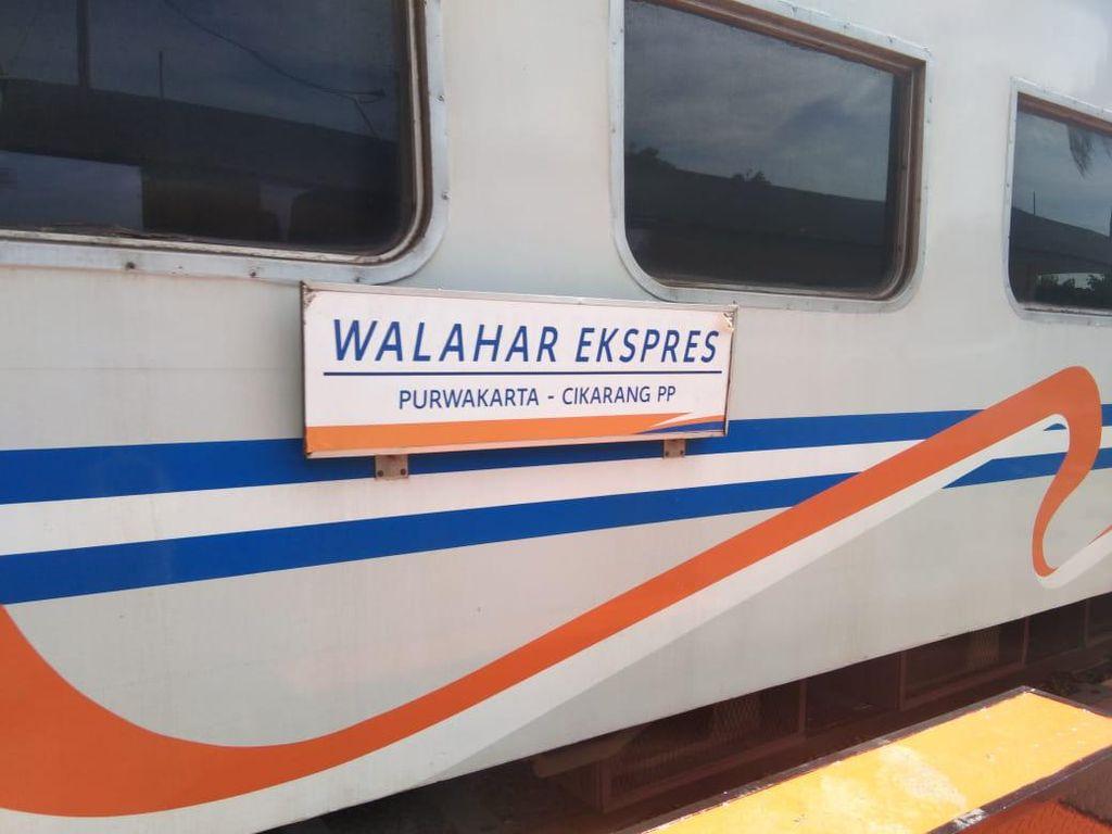 Setelah 6 Bulan, KA Lokal Walahar Kembali Beroperasi