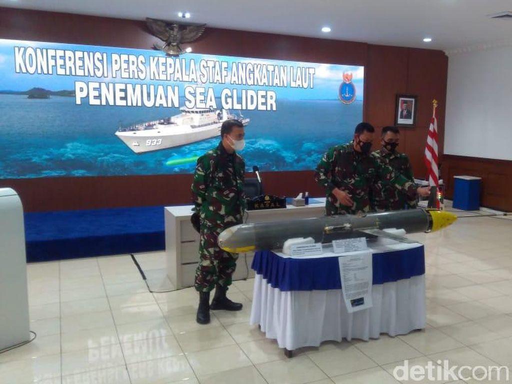 KSAL soal Drone di Selayar: Itu Seaglider