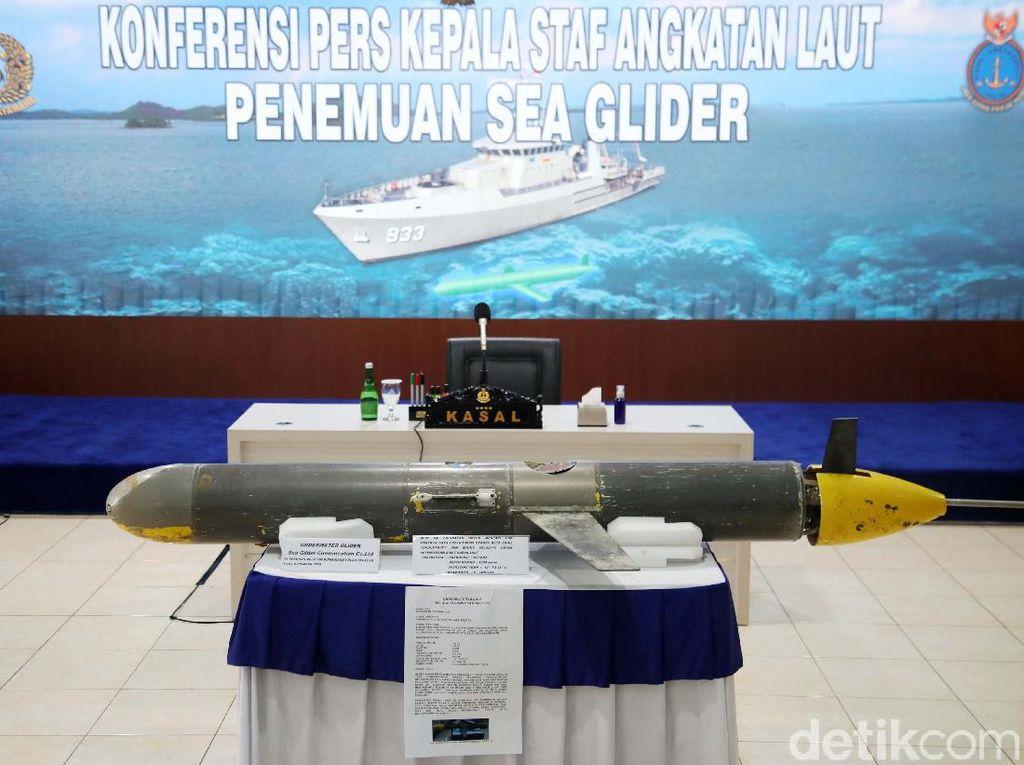 TNI AL Sebut Seaglider di Selayar untuk Penelitian, Bukan Mata-mata