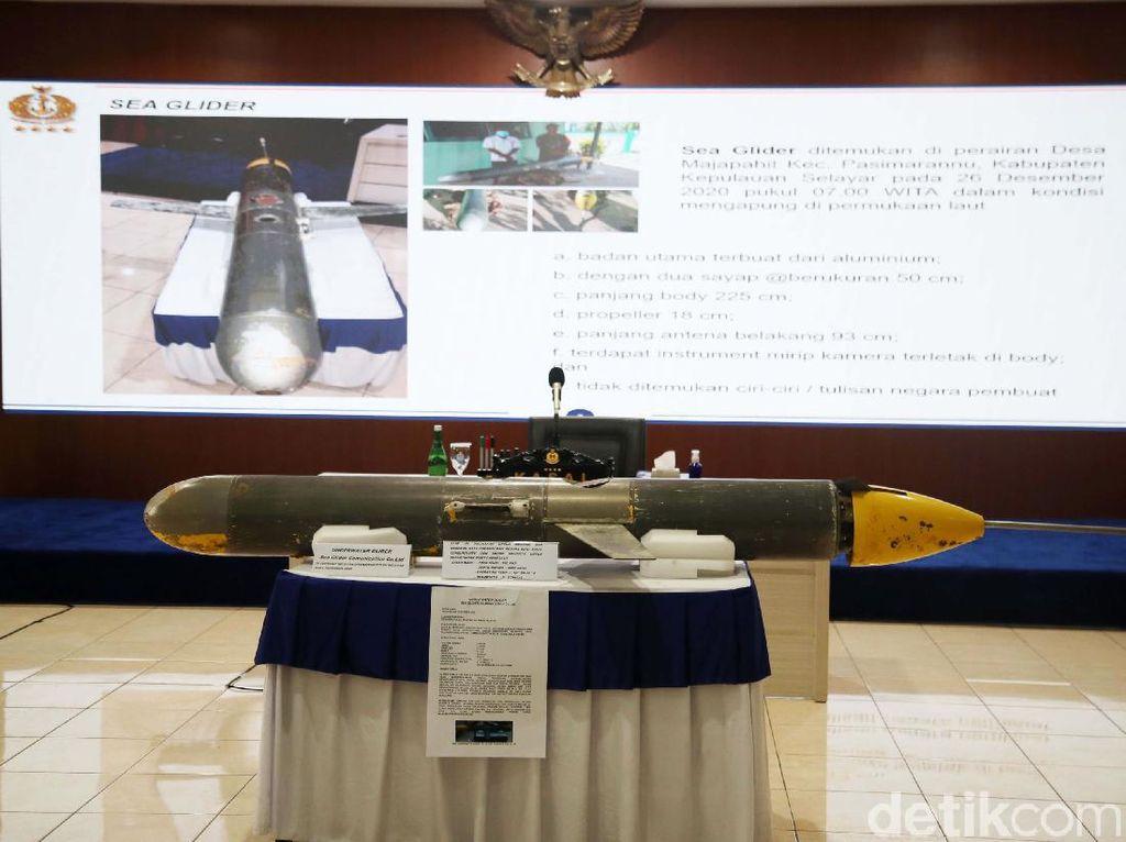Media Asing Ungkap Kesamaan Seaglider di Selayar dengan Milik China
